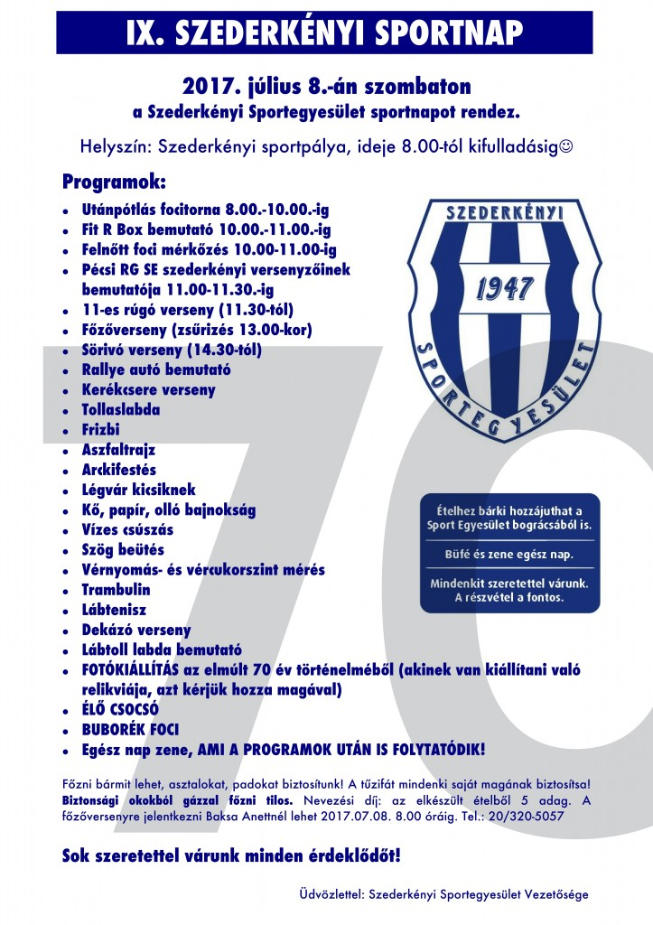 Sportnap 2017